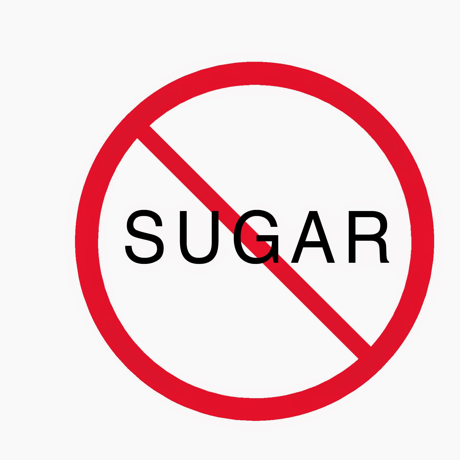 Avoid sugar especially the refined one.